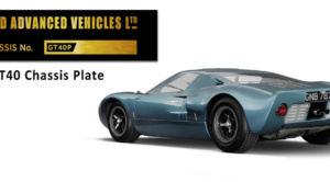 Ford Gt40 Chassis Plate